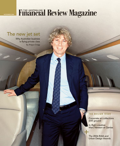 David Lowy, The Australian Financial Review Magazine.