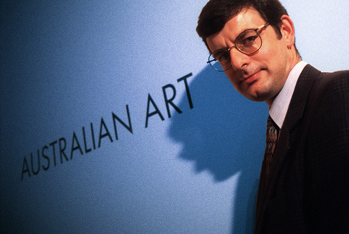 Dr Brian Kennedy, Director, National Gallery of Australia.